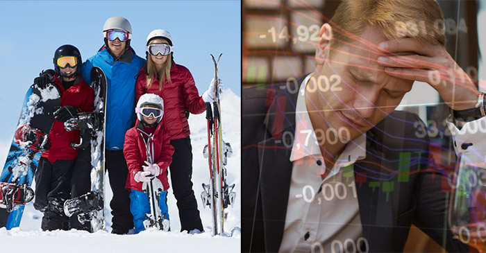 Fund Manager Fears His Family May Be Forced To Ski At Thredbo This Winter As Market Correction Worsens