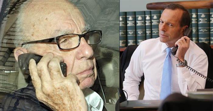 """It's Not Happening, Tony"": Abbott Asks Rupert Murdoch If He Can Be PM Again"