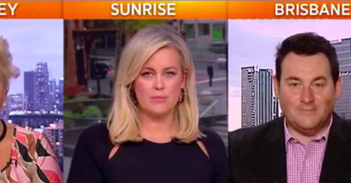 Sunrise: Guest Sports Reporter Ben Davis Pops By To Talk About Round One Of Footy As Well As The Possibility Of Revisiting Australia's Historic Racial Assimilation Policies Surrounding Forced Adoption Of Aboriginal Children