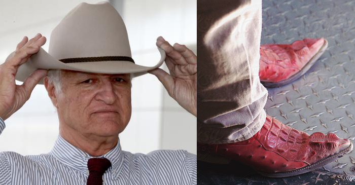 Bob Katter Refuses To Disclose Where His Deadly New Boots Came From