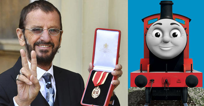 Ringo Starr Receives Knighthood For His Contribution To A TV Show About Talking Trains