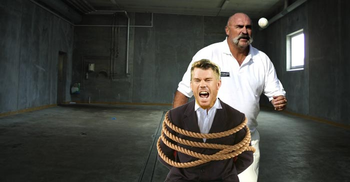 Cricket Australia Sends Warner To Intensive Sledge Conditioning Camp With Merv