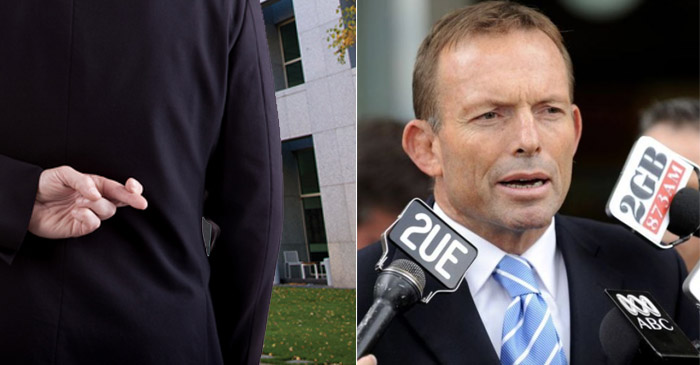 """""""I'm Not Out For Revenge"""" Says Abbott In An Attempt To Mislead Public"""