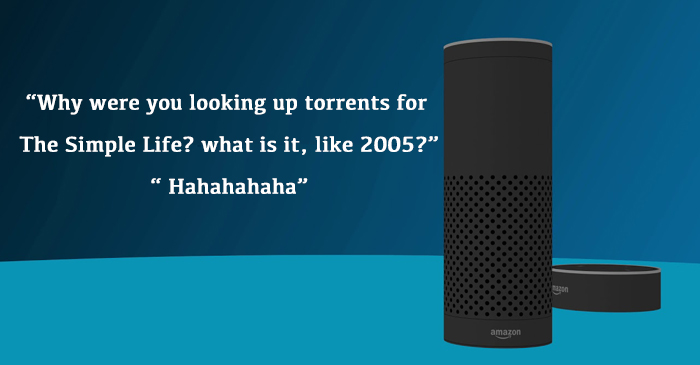 Amazon Working To Stop Alexa From Giggling While Reading Your Search History