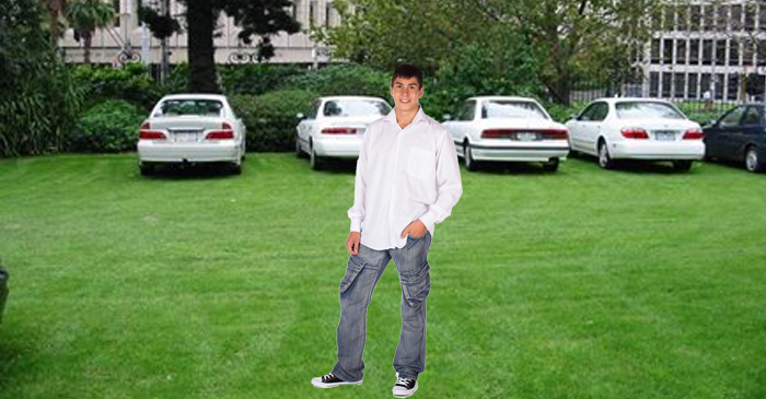 Deadshit Little Cousin Given Bottom-Rung Job Of Showing Wedding Guests Where To Park