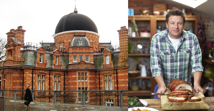 London's Royal Observatory Look Into How Long Jamie Oliver Thinks 15 Minutes Is