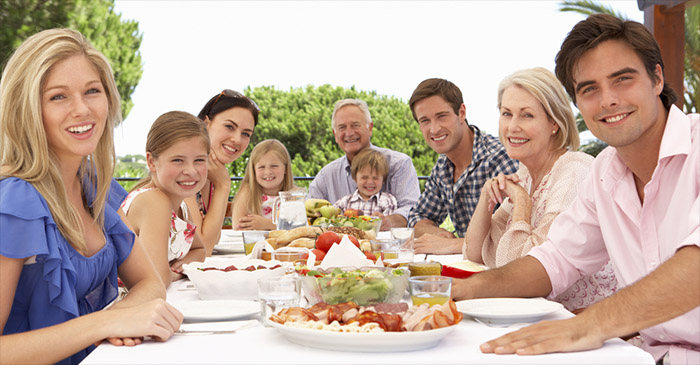 Family Lunch Pauses To Hear Single, Childless Freak Try And Justify Lifestyle