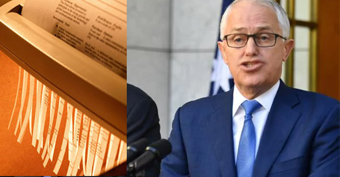 Turnbull Concedes He Had To Give Banks Time To Shred Documents Before Royal Commission