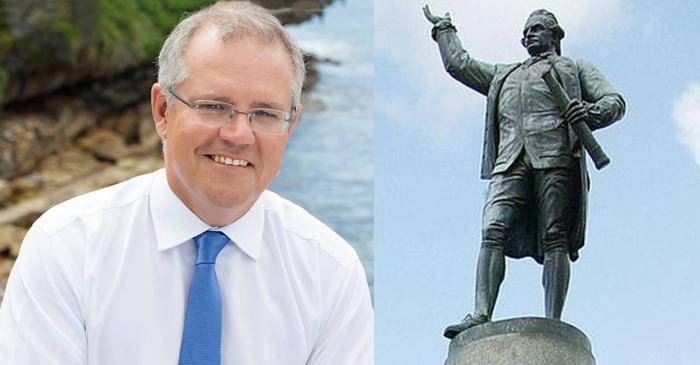 Morrison Allocates $50M For Statue Recognising 52nd White Bloke To Discover Australia