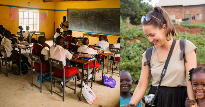African Village Somehow Manages To Build A School Without Any 19-Year-Old Australian Girls