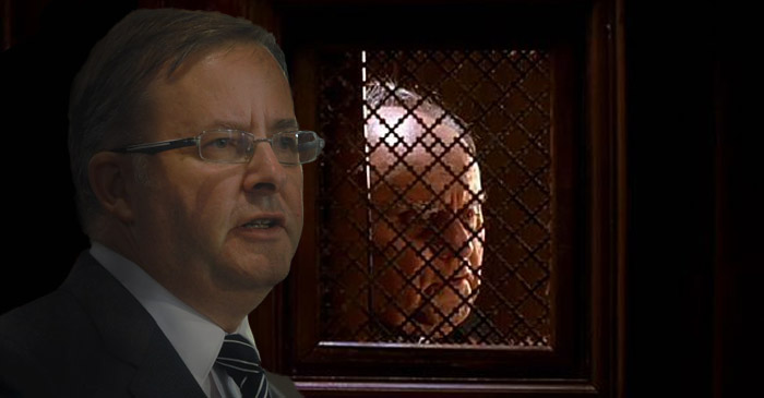 Albo Visits Parish Priest To Ask Forgiveness For What He Is About To Do To Shorten