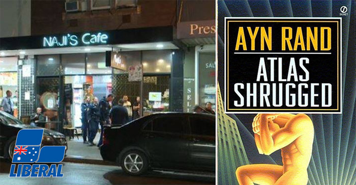 Liberal Party Cafe Brawl Breaks Out After Rogue Members Criticise Ayn Rand's Atlas Shrugged