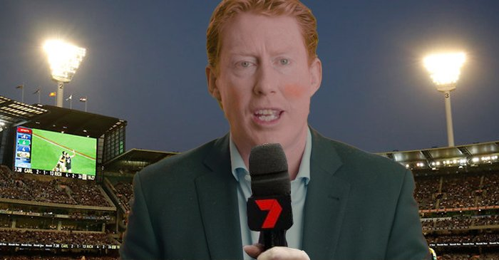 AFL Audiences Wonder Why Cameron Ling Is Yelling At Them