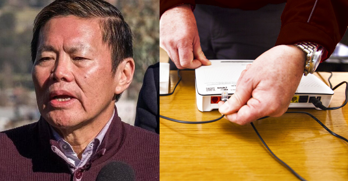 Optus CEO Says He Unplugged Modem And Blew Into The Outlet So Everything Should Be Sweet