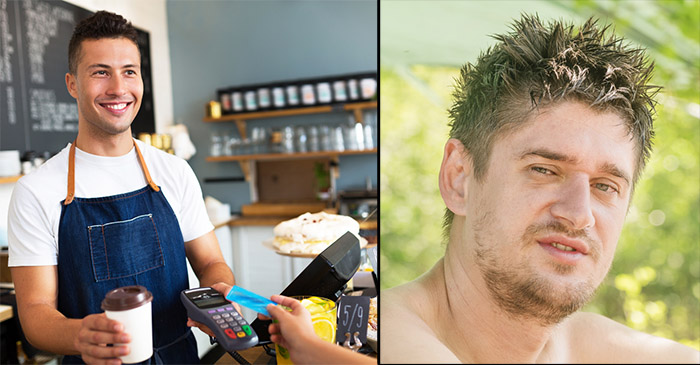 Awkward Man Needs To Find New Cafe After Barista Learns His Name