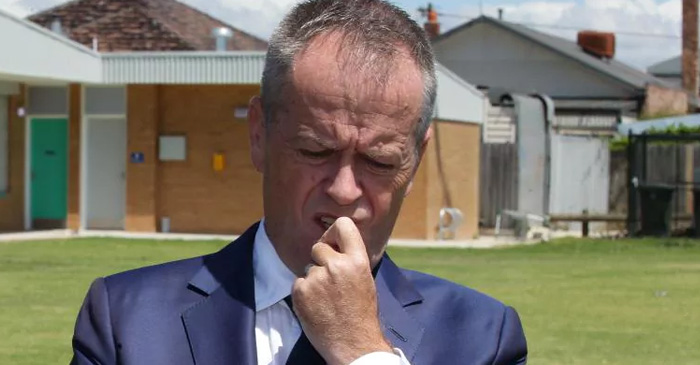 """This Ice Thing Is Actually Pretty Bad Hey"" Says Shorten During Rare Trip Outside Melbourne"