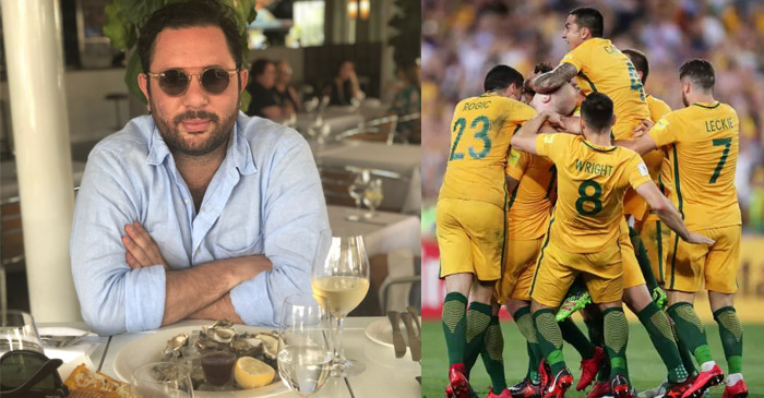 Lucky Ethnic Friend Always Has His Mother Country In Case Socceroos Come Home Next Week
