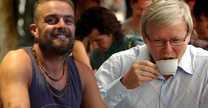 Water Under The Bridge: Kevin Rudd Finally On Talking Terms With Estranged Nephew Xavier