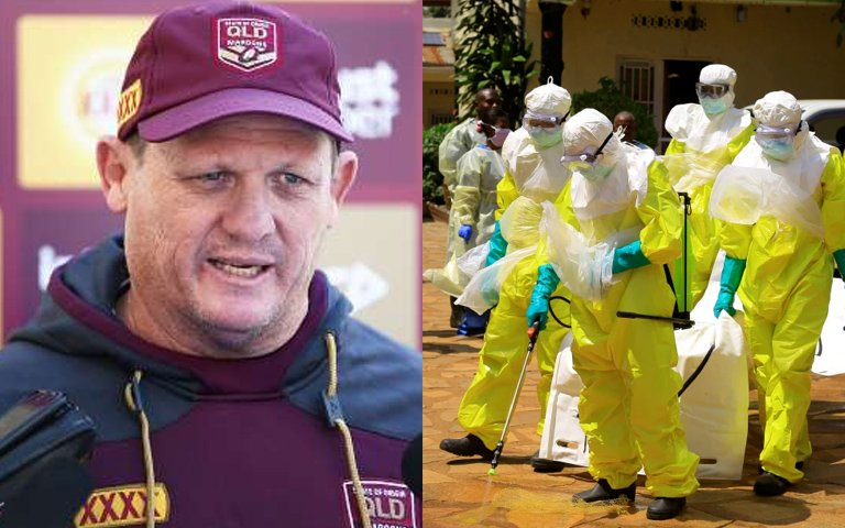 Maroons Still Confident Despite Reports Of An Ebola Break Out During Warm Up