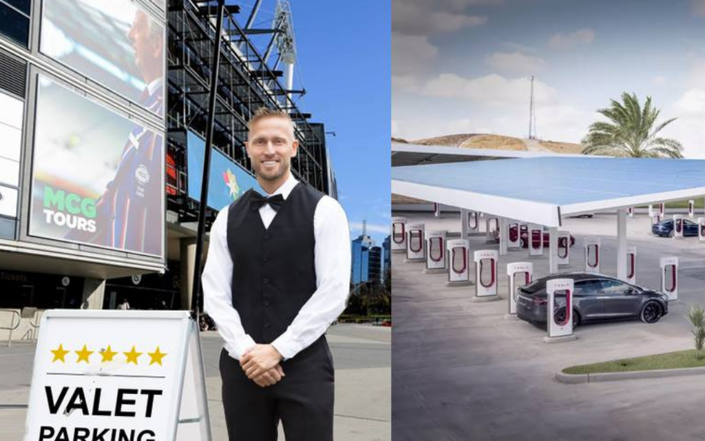 MCG Forced To Provide Valet Parking And New Tesla Stations Following An Influx Of Demons Fans
